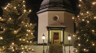 Silent-Night-Chapel in Oberndorf, Austria, where the song was first performed in 1818.