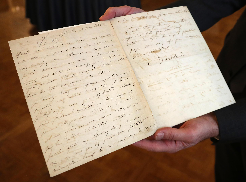 Письмо Шарля Бодлера своей возлюбленной Жанне Дюваль ушло с молотка за 234 тысячи евро