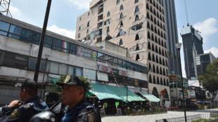 México fue sacudido por un terremoto de 7,1 grados en la escala de Richter el 19 de septiembre de 2017.
