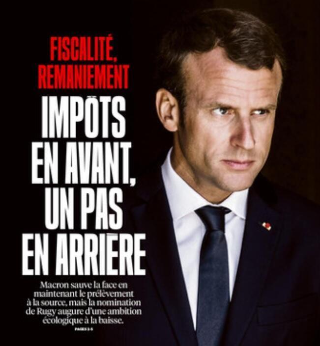 Capa do jornal Libération desta quarta-feira (5).