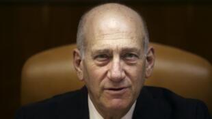 Ehud Olmert.
