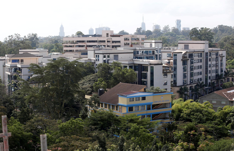 Le complexe hôtelier DusitD2 de Nairobi, théâtre d'une attaque terroriste le 15 janvier 2019, dans laquelle 21 personnes ont trouvé la mort.