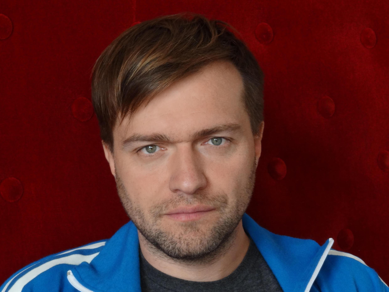 Rafaël Ouellet, réalisateur québécois de « Camion », au 27e Festival international du film francophone de Namur (FIFF), en octobre 2012.
