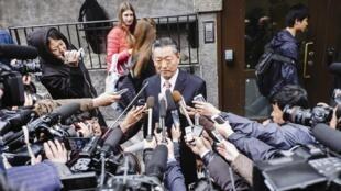 Trưởng đoàn đàm phán Bắc Triều Tiên Song Il Ho tại Stockholm - REUTERS /Ola Jacobsen