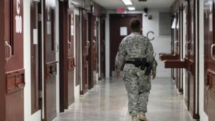 El centro de detención de Guantánamo.