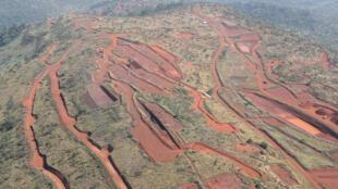 La région du Simandou détient l'un des gisements de fer les plus importants au monde.