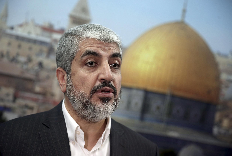 Shugaban Kungiyar Hamas Khaled Meshaal