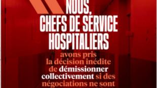 Capa do jornal Libération desta terça-feira, 14 de janeiro de 2020.