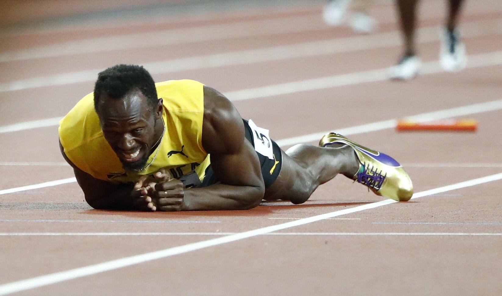 Bingwa zamani wa dunia mbio za Mita 100 Usain Bolt