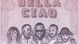 Capture d'écran de la pochette du remix unique français de la chanson «Bella Ciao» (2018).