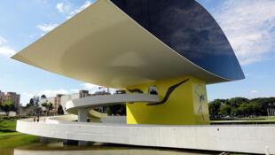 Curitiba, «ville modèle d'Amérique du sud». Ici, le musée Oscar Niemeyer.