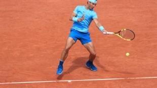Rafael Nadal at Roland Garros 2 May 2018