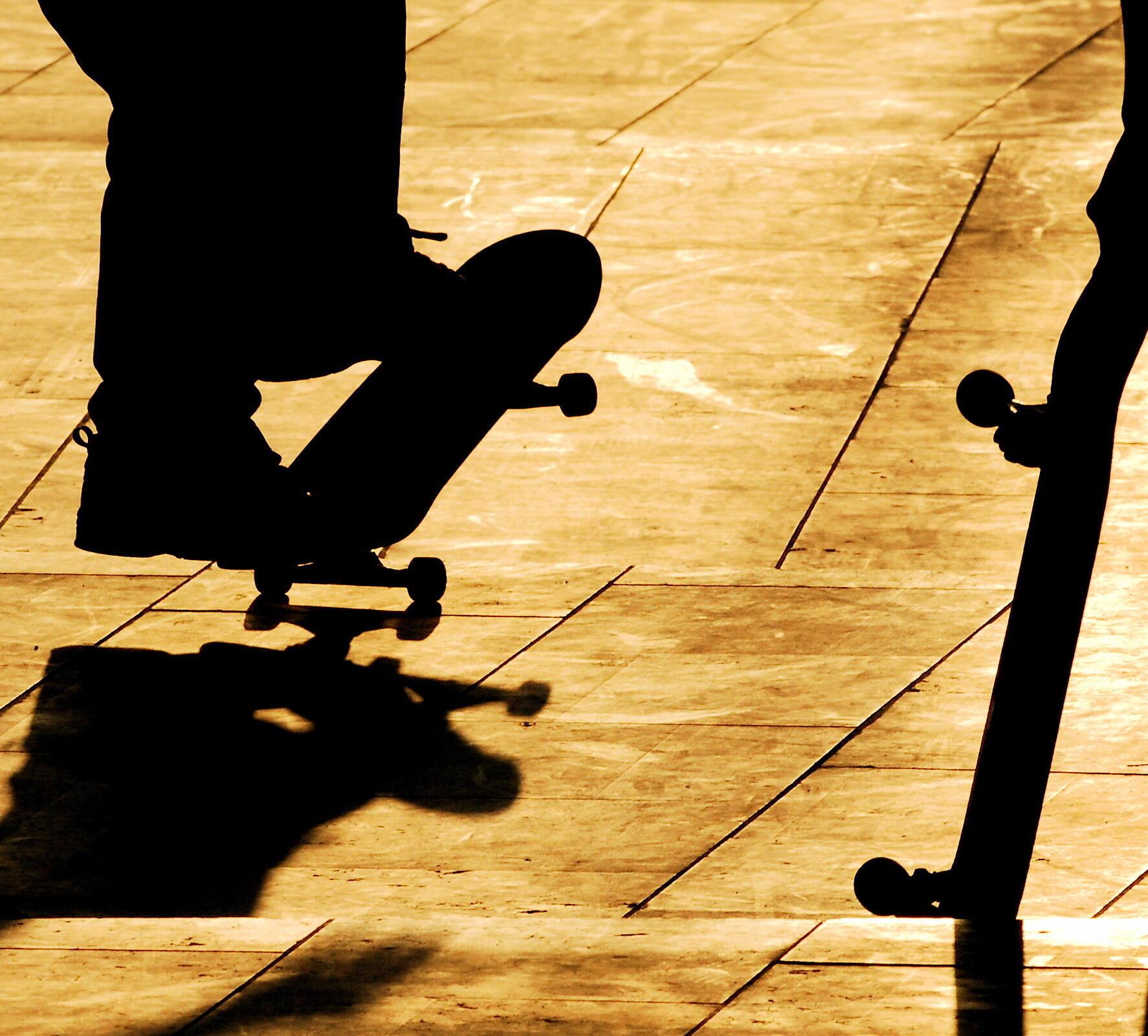En Ethiopie, le skateboard pour rompre l'ennui.