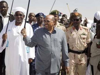 Omar al-Bashir presidente de  Sudán