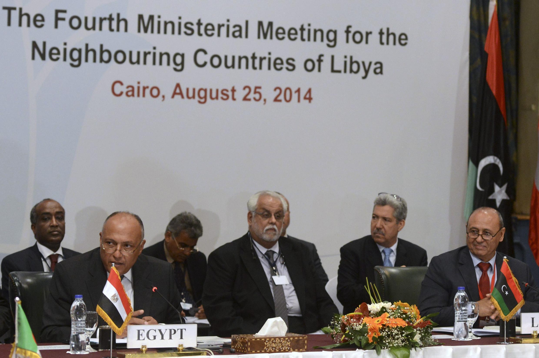 Taron zaman lafiyan Libya da aka yi a Masar
