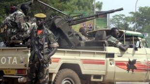 Les forces gouvernementales se seraient repliées non loin de Bambari (Image d'archives).