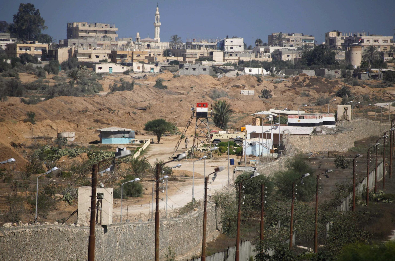 La frontière entre l'Egypte et la bande de Gaza, le 12 septembre 2013.