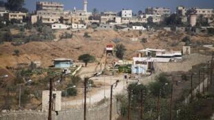 L'Egypte souhaite établir une zone tampon à sa frontière avec la bande de Gaza.
