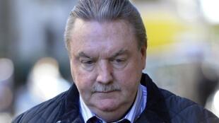 L'homme d'affaires James McCormick à son arrivée au tribunal de Old Bailey. Londres, le 2 mai 2013.