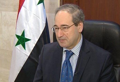 فیصل مقداد معاون وزیر امور خارجۀ سوریه
