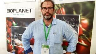 Philippe Parageaud, gérant de la société Bioplanet France.