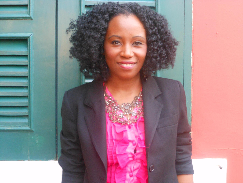 A jornalista e representante da TED x São Tomé, Katya Aragão
