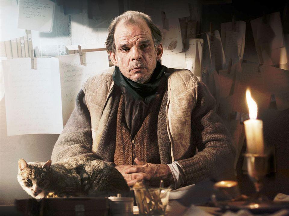 Denis Lavant, dans le rôle de Louis-Ferdinand Céline, dans le film d'Emmanuel Bourdieu.