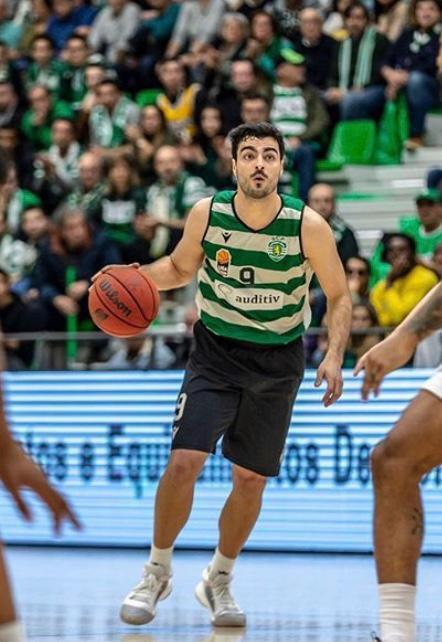 Diogo Ventura, atleta luso-moçambicano do Sporting CP.