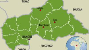 République centrafricaine.
