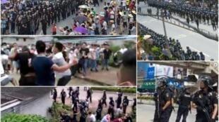 广东肇庆高要区反建垃圾焚化厂的群体抗议2016年7月3日