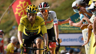 Tadej Pogacar dropped everybody but yellow jersey and fellow Slovenian Primoz Roglic when he turned on the power on the gruelling mountains of Stage 13 of the 2020 Tour de France.