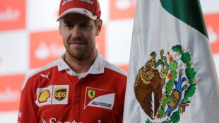 Ferrari Formula One driver Sebastian Vettel during the Mexican Grand Prix