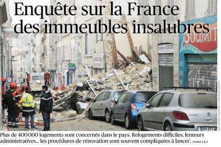 Первая полоса Le Figaro, выпуск 09/11/2018.