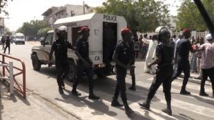Une vingtaine de personnes ont été interpellées d'après une source policière.