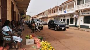 Bissau, a capital da Guiné-Bissau