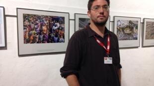 Dominic Nahr at Visa sur l'Image