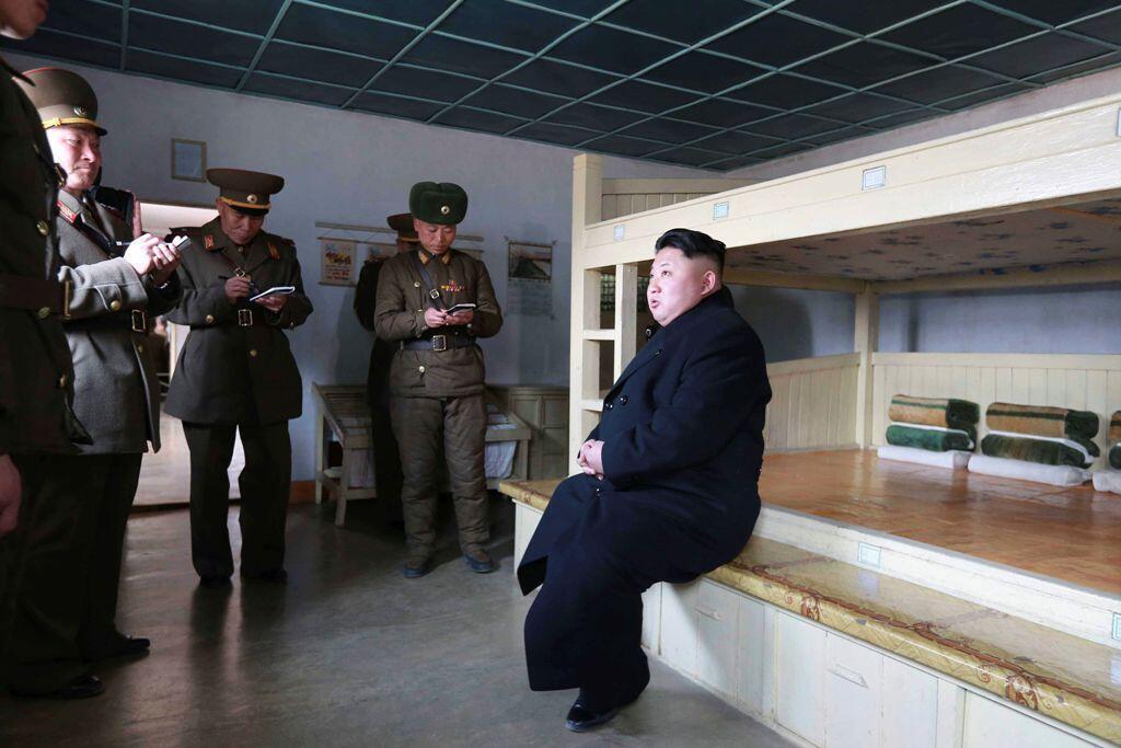 L'internet est censuré en Corée du Nord par le régime de Kim Jong-un (photo).
