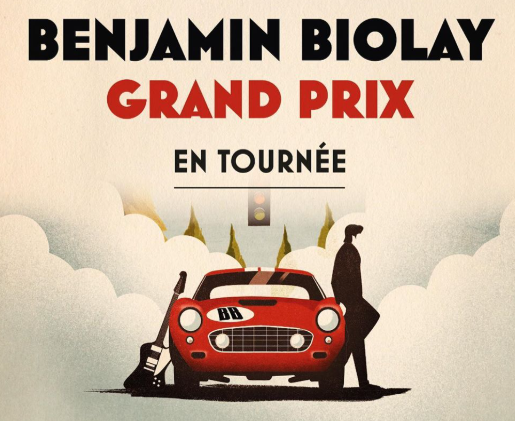 «Grand Prix», le nouvel album de Benjamin Biolay qui sera en tournée en France en octobre prochain.