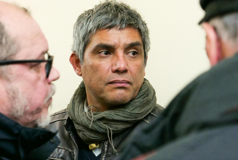 Ricardo Palma Salamanca en el Palacio de Justicia, Paris 2018