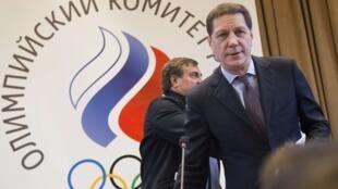 俄罗斯奥委会主席茹科夫