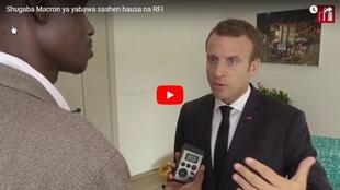 Emmanuel Macron - RFI Hausa
