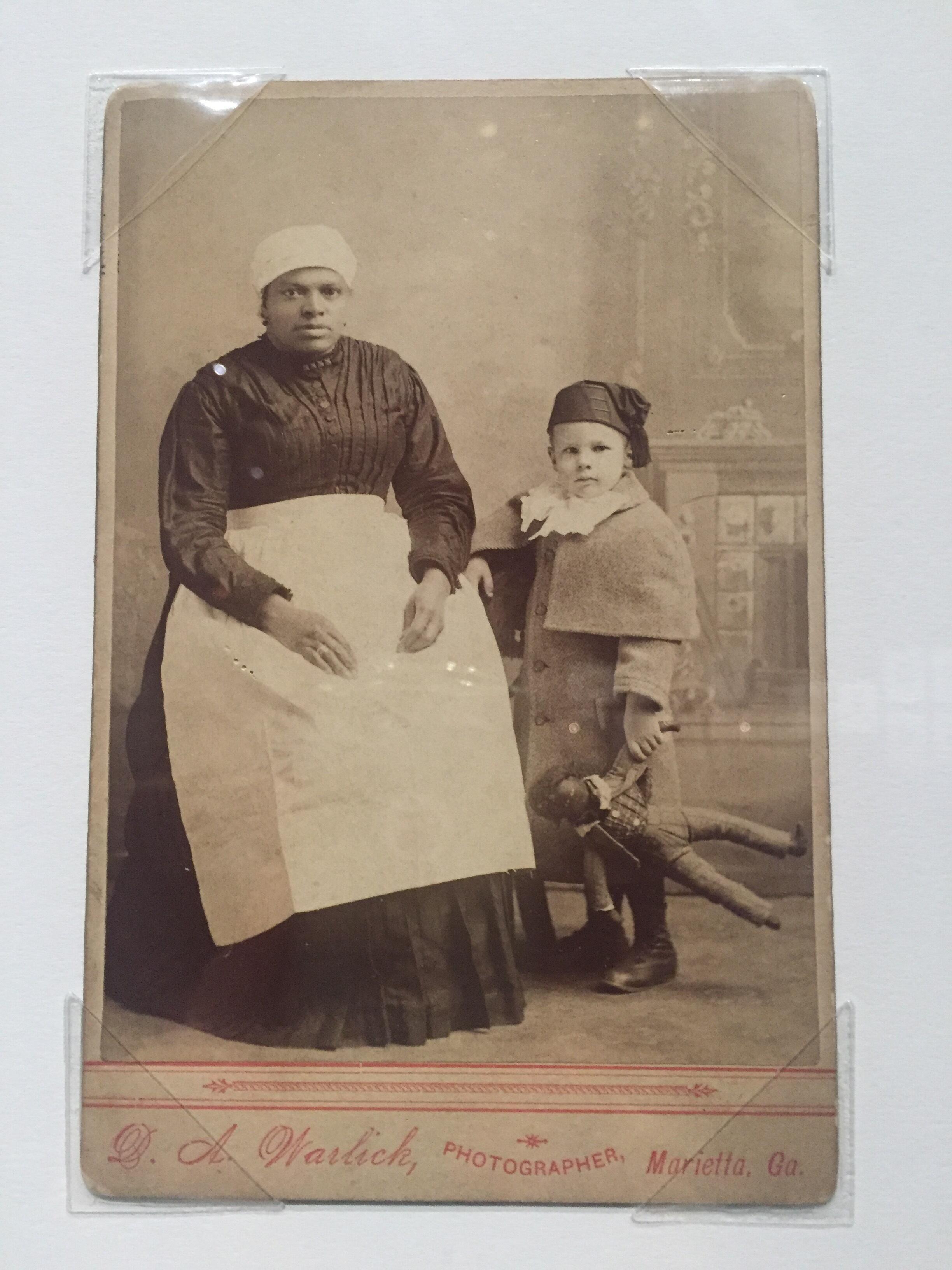 Foto de David A. Warlick, sem título, Marietta, Geórgia, 1891.