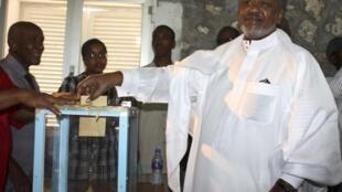 Le président djiboutien Ismail Omar Guelleh en 2011.