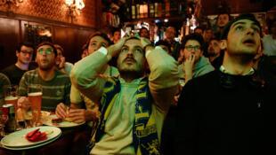 Les supporters italiens ont vécu une soirée cauchemardesque, le 13 novembre 2017.
