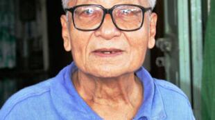 Win Tin, le plus ancien détenu politique en Birmanie.