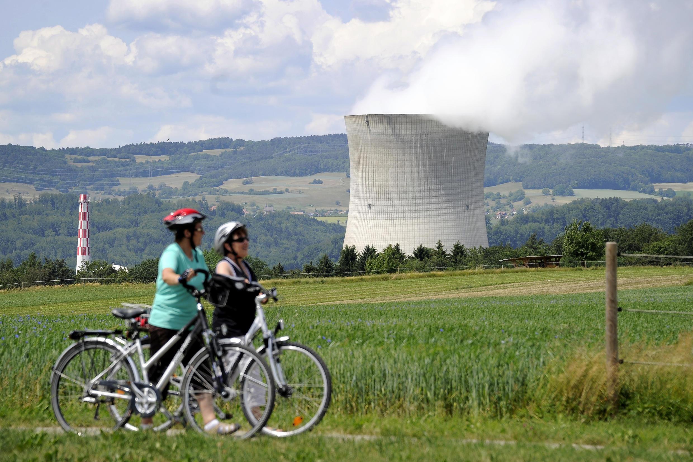 """АЭС """"Лейбштат"""" на севере Швейцарии"""