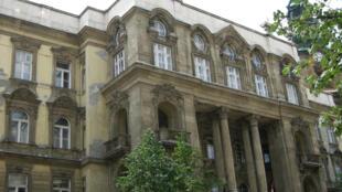 Le syndicat étudiant HÖK de la faculté de lettres de l'Université ELTE (photo) a été suspendu par le recteur.