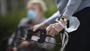 Nursing homes in France are among the worst hotspots for the coronavirus.