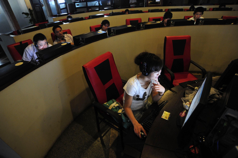 г. Хефей (Китай). Интернет-кафе