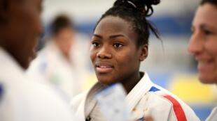 Clarisse Agbegnenou, quadruple championne du monde.